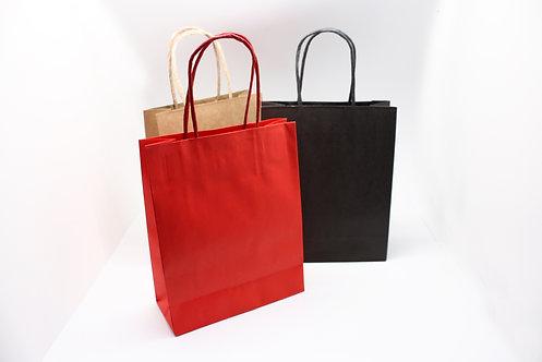 既製紙袋(赤・黒・茶色)