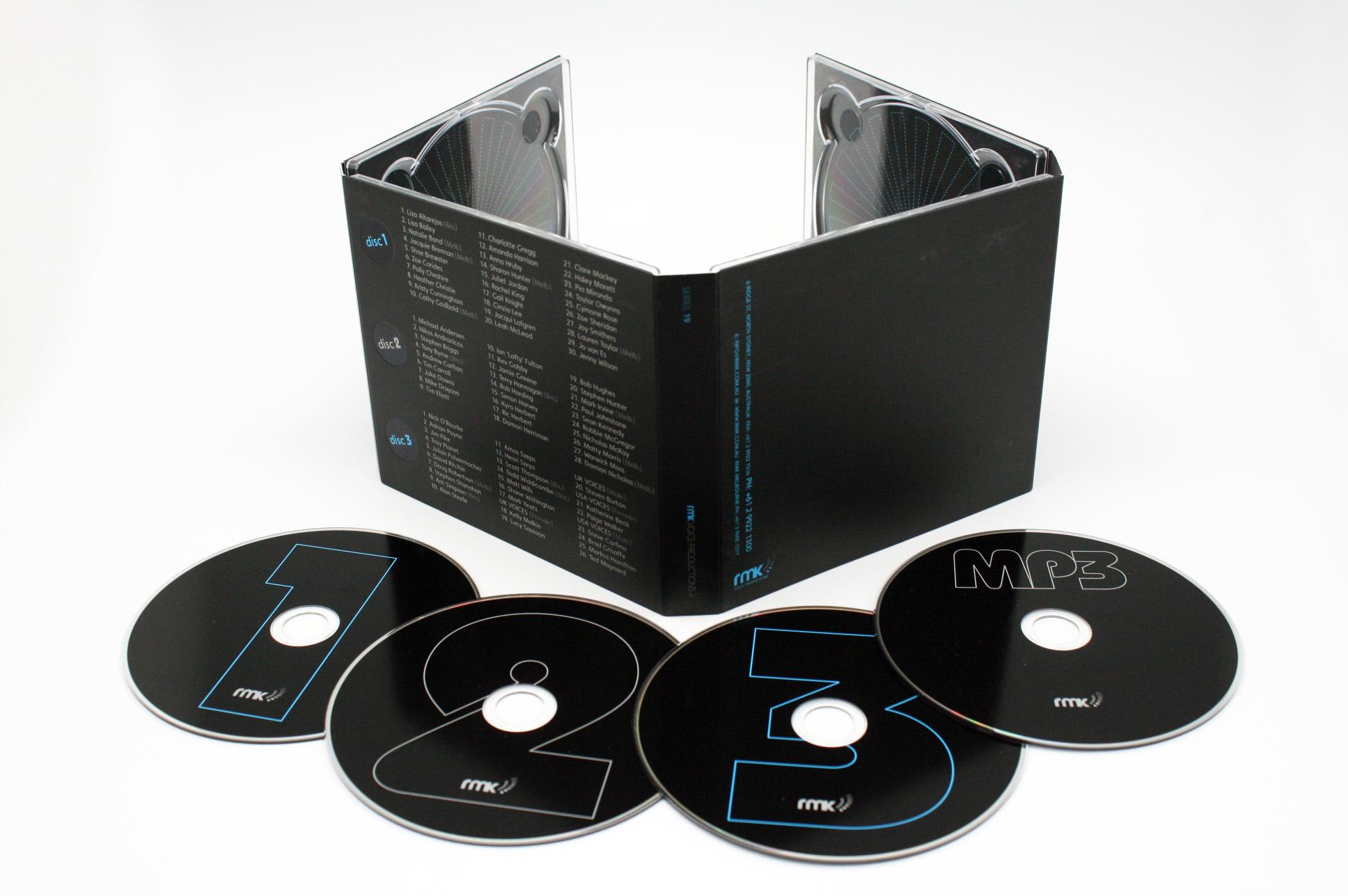 8P CDデジパック
