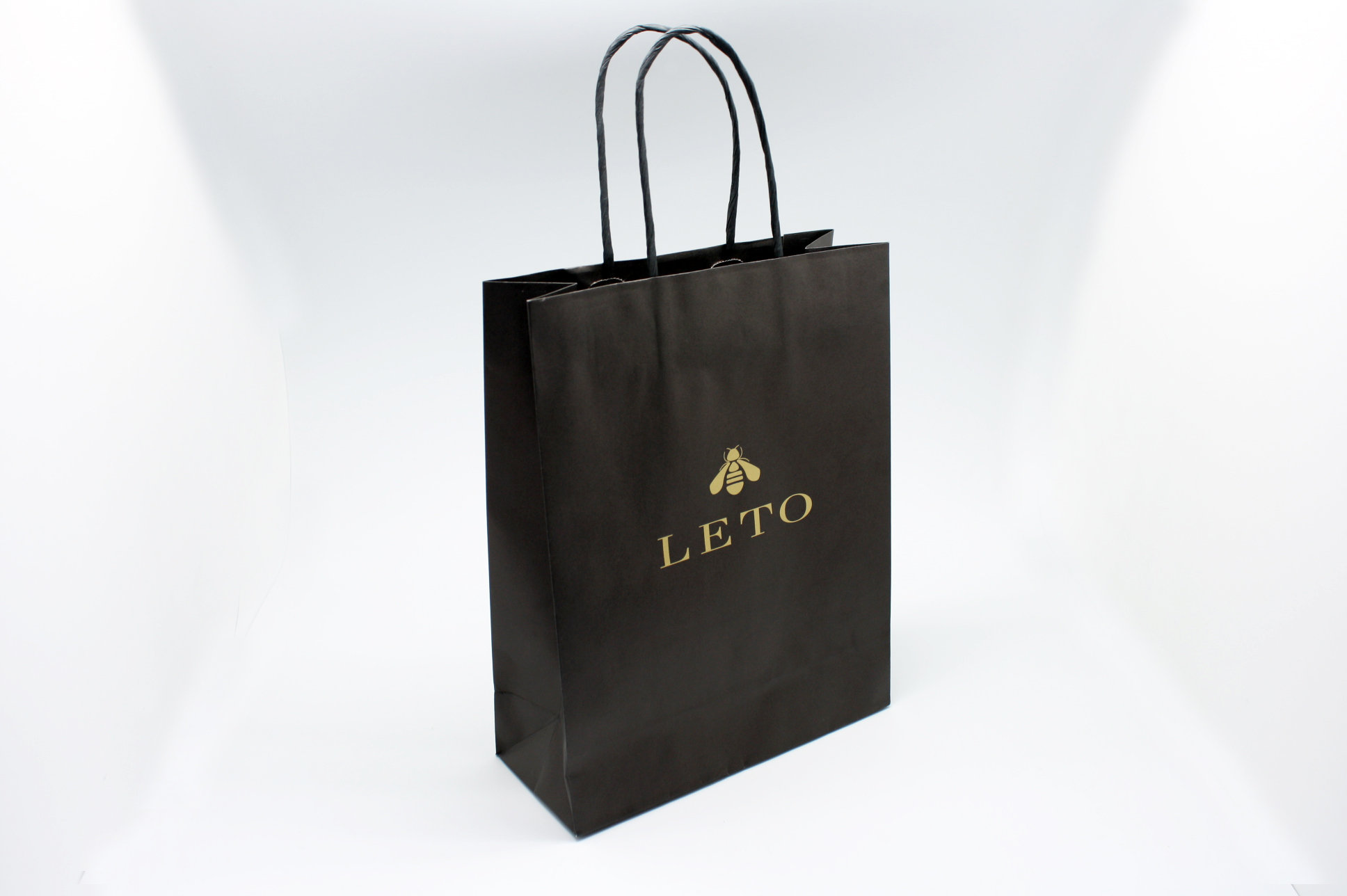 image relating to Printable Paper Bags called Bespoke Paper Luggage TST Innoprint Tailor made Packaging