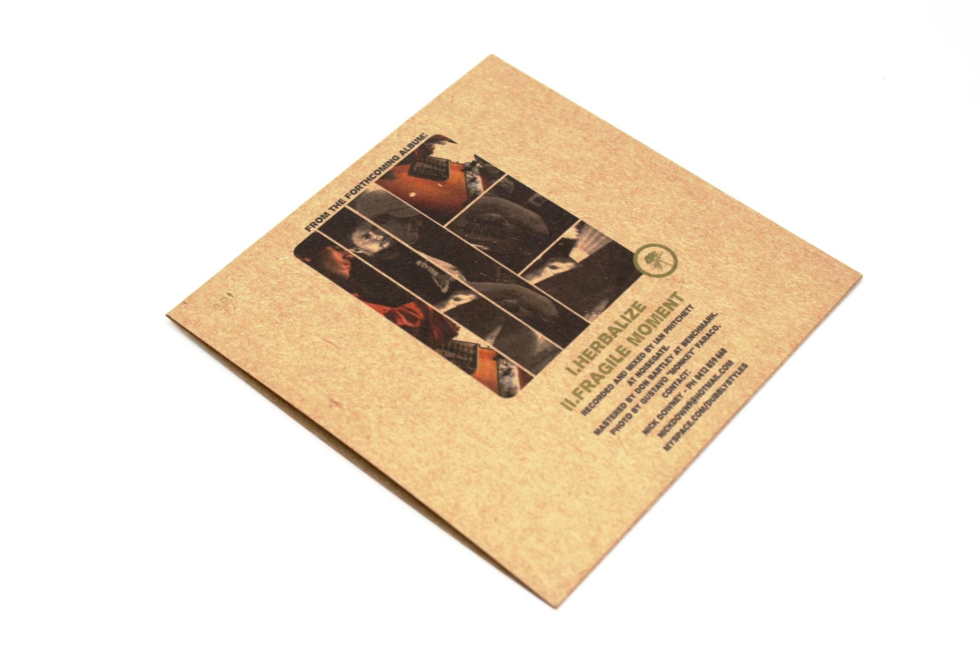 2P CD紙ジャケット
