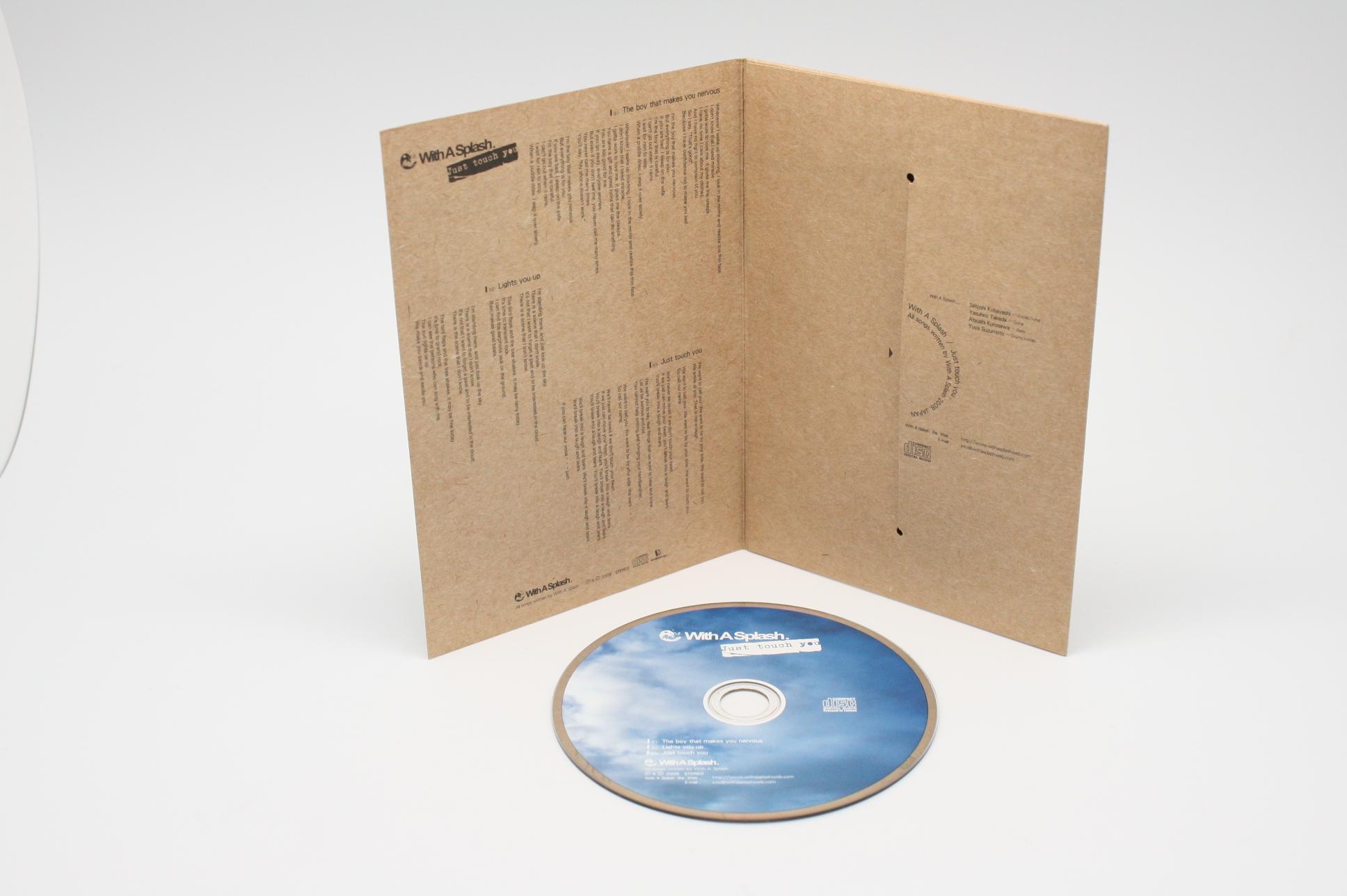 4P DVD紙ジャケット