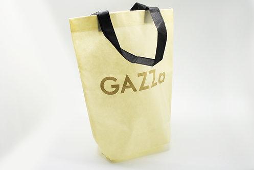 不織布バッグ(縦長・ゆるやかな形・トート)