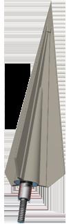 Instinct 3 blade screw-in (3 pack)