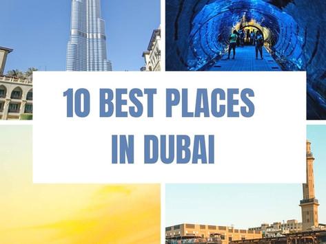 10 Best Places in Dubai