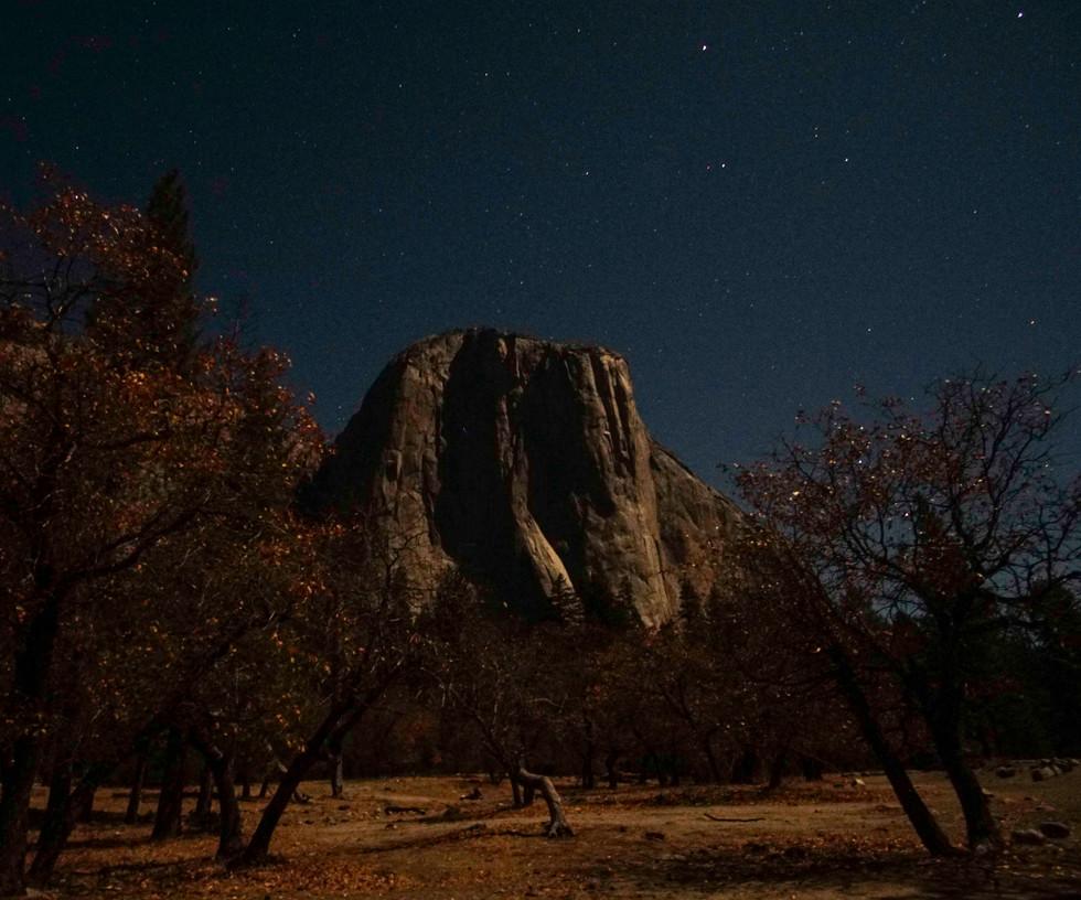 El Capitan by Moonlight
