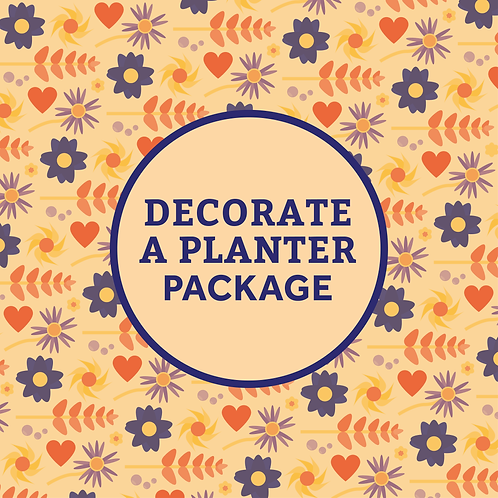 Decorate A Planter Package