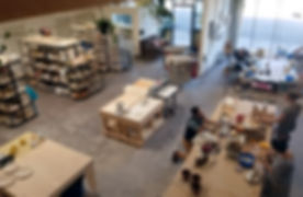 Morning Ceramis Studio from above