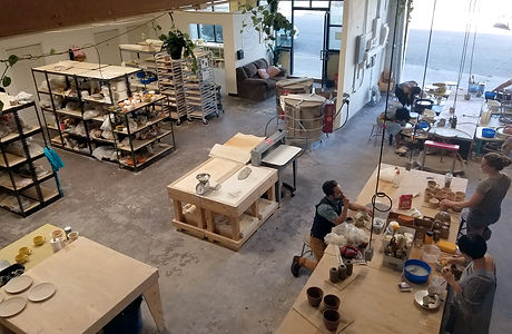 Morning Ceramis Studio from above