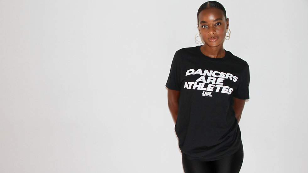 Dancers Are Athletes Black T-Shirt