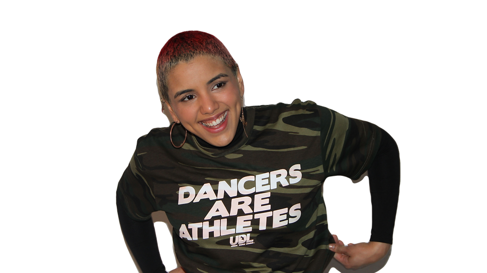 Dancers are Athletes Camo T-Shirt