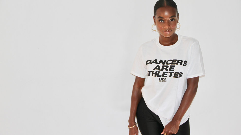 Dancers Are Athletes White T-Shirt