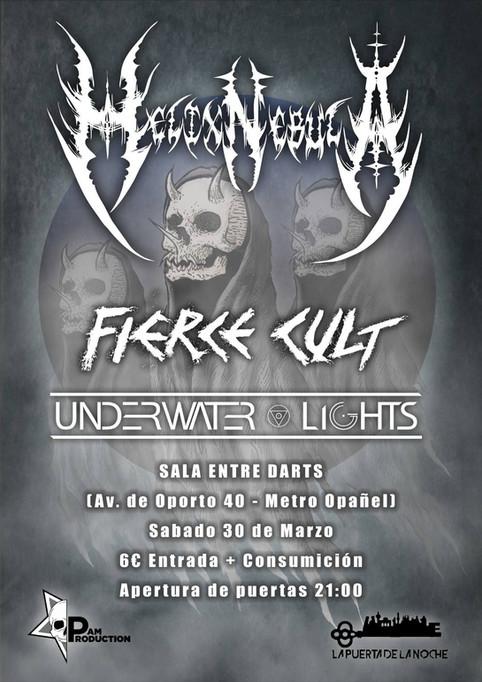 Fierce Cult Live in Madrid.
