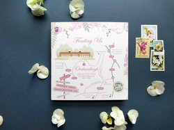 Wedding Map to Orchardleigh