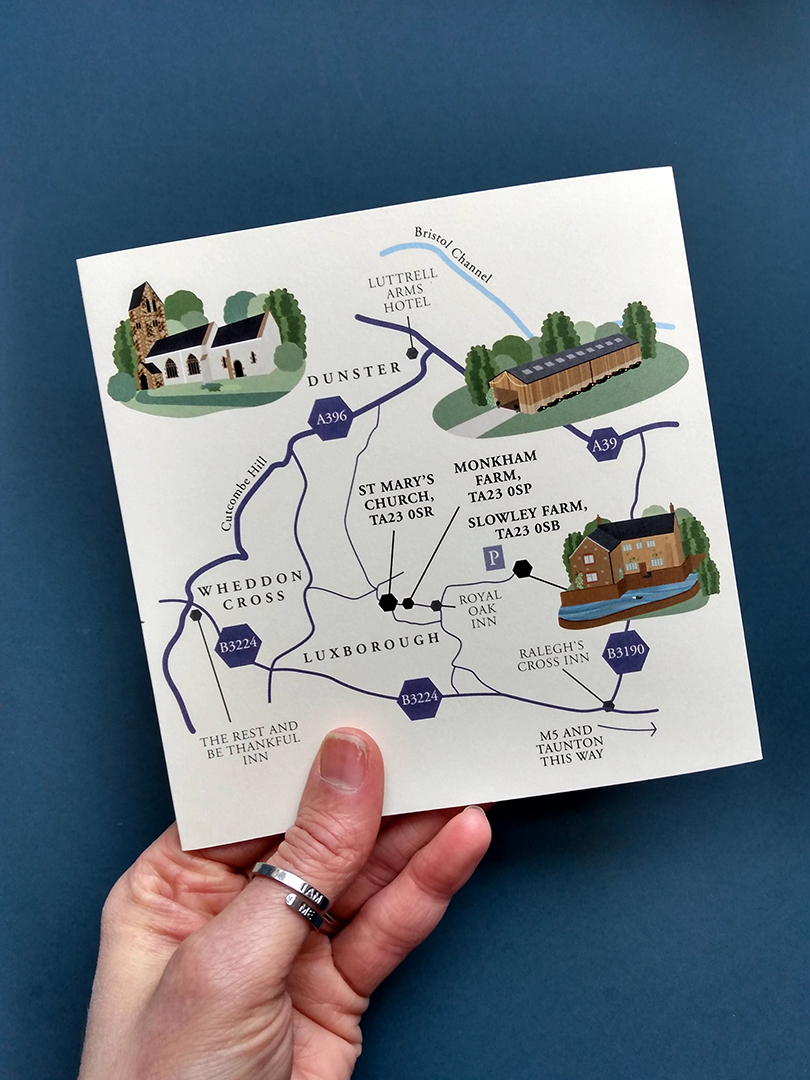 Wedding Map, Luxborough