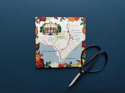Wedding Map to The Italian Villa