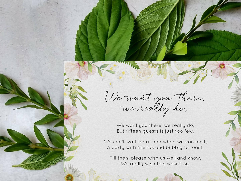 Small Wedding Cards