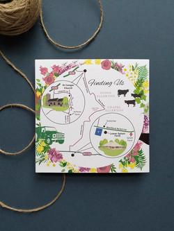 Wedding Map, Cheddar
