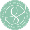 Logo From Sally with Love Wedding Statio