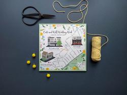 Wedding Map to the Landsdowne Club