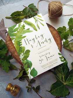 Leafy, outdoor themed designs