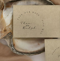 wedding stationery invite invitations save the dates modern unique rustic clean place name