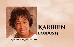 Karrien Williams - Exodus 15