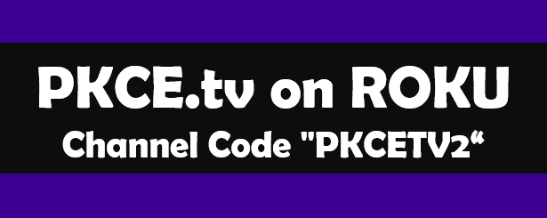 pkce.tv on roku