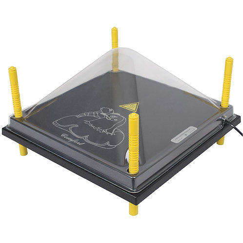 Afdekkap Kunststof Voor Warmteplaat 40x40 cm