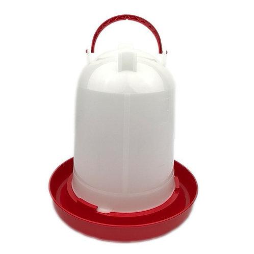 Drinksilo Plastic Rood 6 L