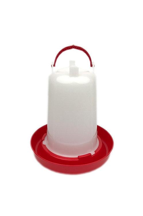 Drinksilo Plastic Rood 1,5 L