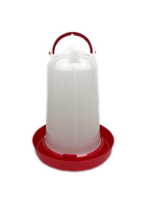 Drinksilo Plastic Rood 3 L
