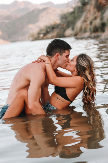 couples water photo