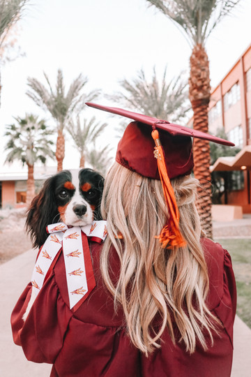 cute graduation photo