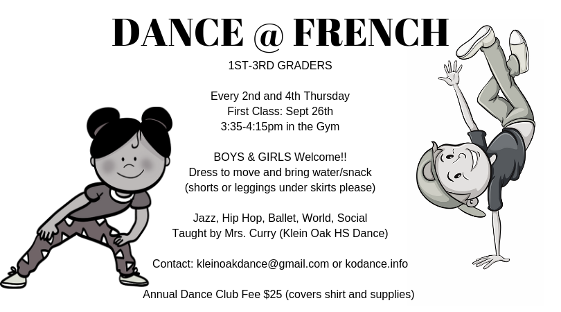 Fall 2019 French Elementary 1st - 3rd gr
