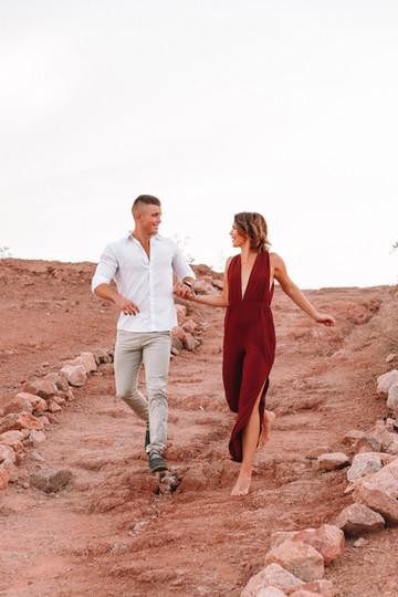 cute desert couple photo