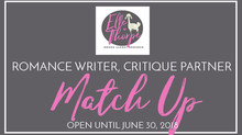 Critique Partner Interview and Romance Writer CP Match Up! Part II - CLOSED