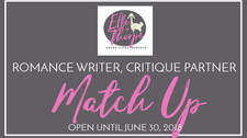 Critique Partner Interview and Romance Writer Match-Up! Part I - CLOSED.