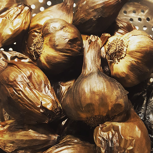 Black Shallots & Garlic