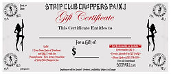 gift certificates for bikers