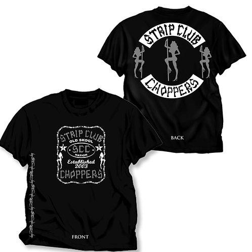 Men's SCC Black T-Shirt Barbed Wire