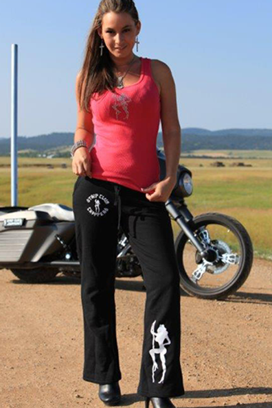 Women's SCC Yoga Pants in Black
