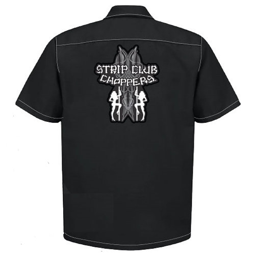 Men's SCC Old Skool Mechanic Style Shop Shirt