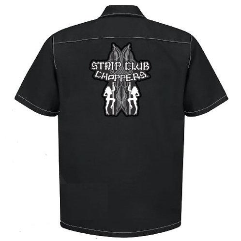 Men's SCC Old Skool Mechanic Style Shop Shirt