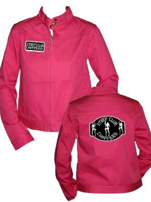 Women's SCC Hip Length Jacket Pink