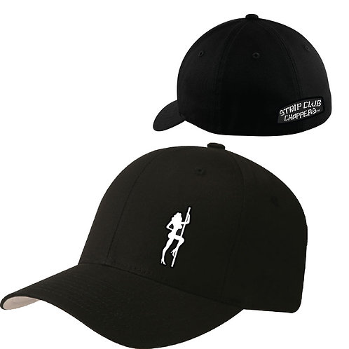 SCC Pole Girl Curved Bill Fitted Ball Cap