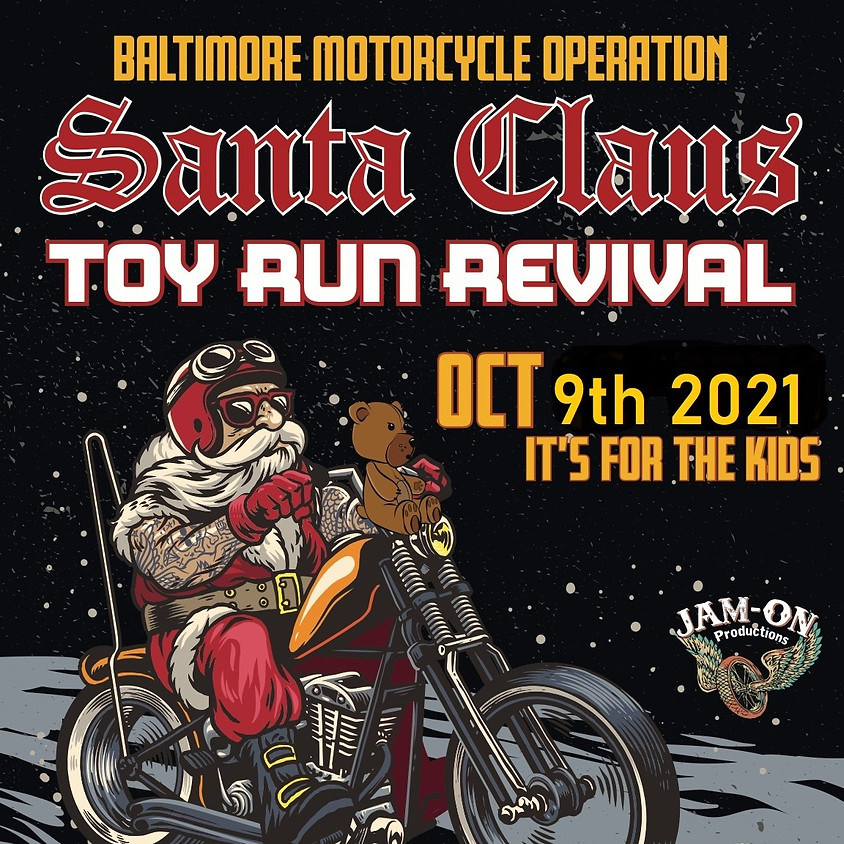 Baltimore Motorcycle Operation Toy Run Revival