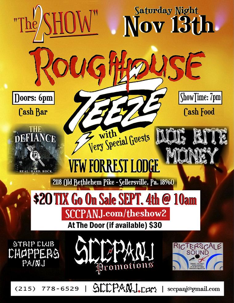 the show 2 teeze roughhouse