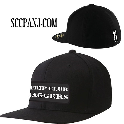 Strip Club Baggers Flat Straight Bill Snap Fit Ball Cap