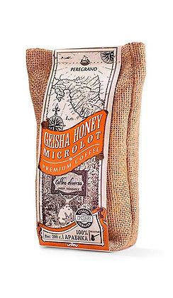 Кофе Гейша Хани, молотый, средняя обжарка, упаковка 200 г