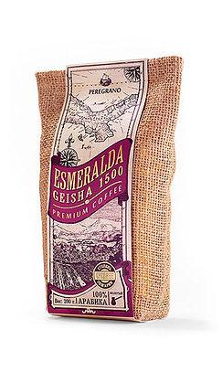 Кофе Эсмеральда Гейша 1500, молотый, средняя обжарка, упаковка 200 г